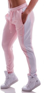 Calça Jogger Advance Clothing Amarração Rosa/Branca Advance