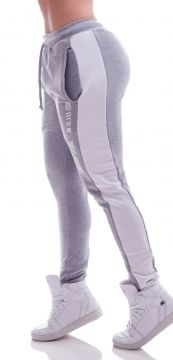 Calça Jogger Advance Clothing Confort Cinza/Branco Advance
