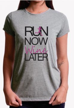 Camiseta Trilha Camisetas Run Now Wine Cinza Trilha Camiset