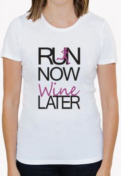 Camiseta Trilha Camisetas Run Now Wine Branca Trilha Camise