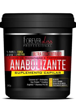 Creme Forever Liss Anabolizante Capilar 250 g Forever Liss