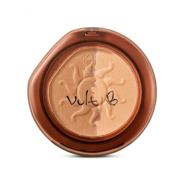 Pó Vult Make Up Compacto Duo Soleil 02 Marrom Vult