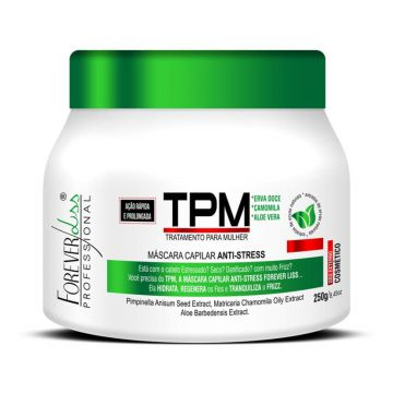 Máscara Forever Liss TPM Anti Stress 250g Forever Liss