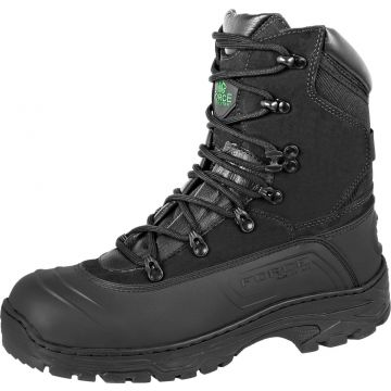 Bota Coturno Force Militar Emborrachado Preto Force Militar