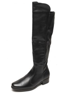 Bota Vizzano Over The Knee Preta Vizzano