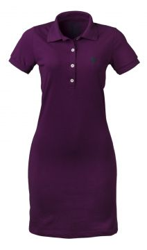 Vestido Made in Mato Polo Piquet Roxo Made in Mato