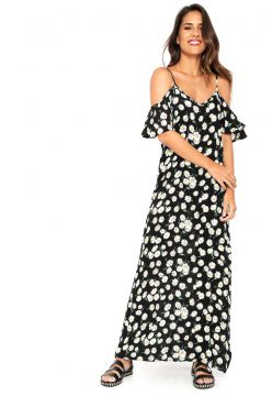 Vestido Ciganinha Kroon Fashion Estampado Preto Kroon Fashi
