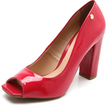 Peep Toe Polo London Club Verniz Rosa Polo London Club