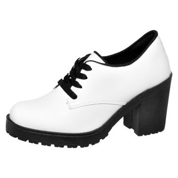 Oxford CR Shoes Look Branco CR Shoes