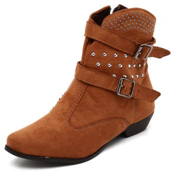 a418d8d3cd Bota Country DAFITI SHOES Tachas Caramelo DAFITI SHOES (Calçados ...
