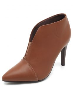 Ankle Boot Thelure Recorte Caramelo Thelure