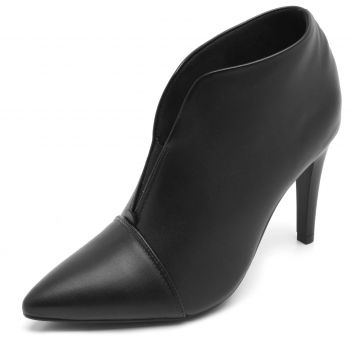Ankle Boot Thelure Recorte Preta Thelure