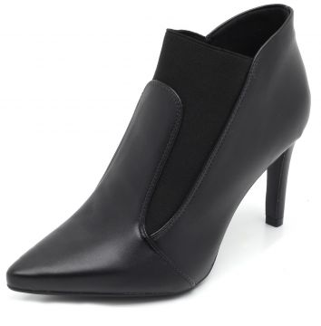 Ankle Boot Thelure Elástico Preta Thelure