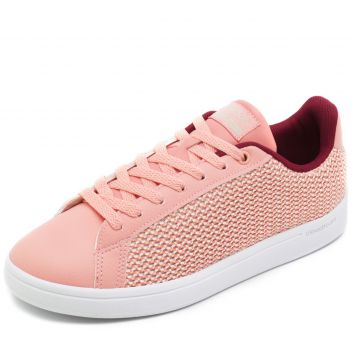 Tênis adidas Performance CF Advantage Clean Coral/Vinho adi