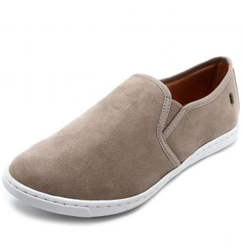 Slip On Santa Lolla Suede Bege Santa Lolla