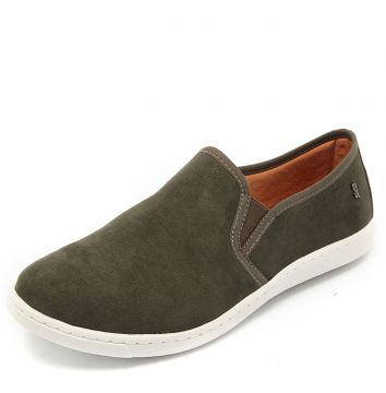 Slip On Santa Lolla Suede Verde Santa Lolla