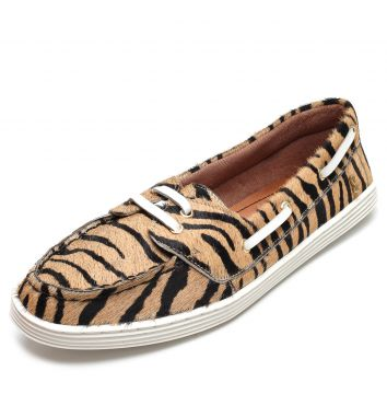 Dockside Santa Lolla Animal Print Bege/Preto Santa Lolla