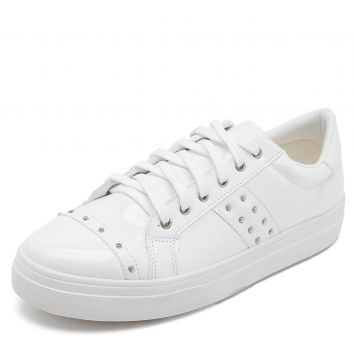 Tênis DAFITI SHOES Tachas Branco DAFITI SHOES