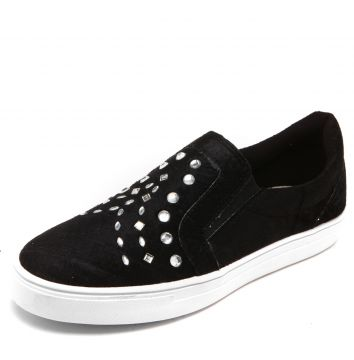Slip On DAFITI SHOES Hotfix Preto DAFITI SHOES