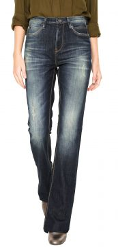 Calça Jeans Animale Flare Estonada Azul Animale
