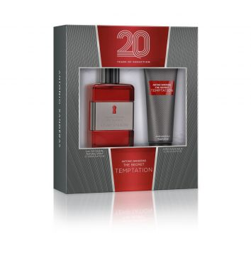 Kit 2pçs Perfume Antonio Banderas The Secret Temptation Ant