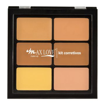 Paleta Corretivo Max Love PC02 Bege Max Love