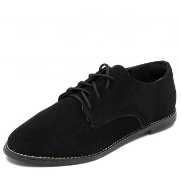 Oxford DAFITI SHOES Recortes Preto DAFITI SHOES