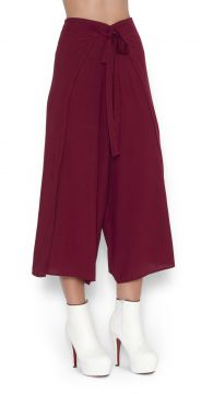 Calça Envelope Lucy in The Sky Pantacourt Vinho Lucy in The