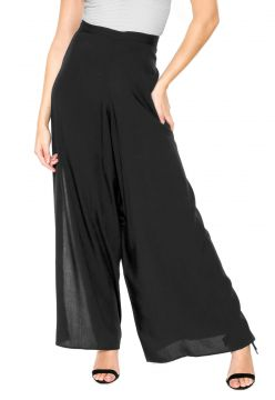 Calça Lucy in The Sky Pantalona Envelope Preta Lucy in The