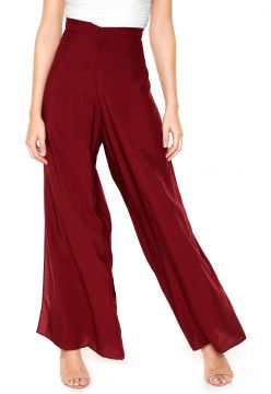 Calça Lucy in The Sky Pantalona Envelope Vinho Lucy in The