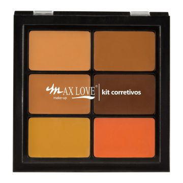Paleta Corretivo Max Love PC03 Bege Max Love