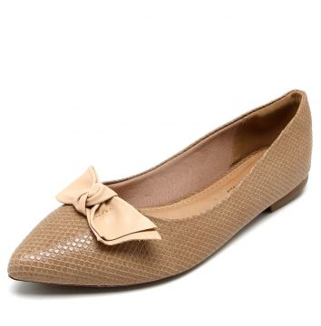 Sapatilha DAFITI SHOES Textura Bege DAFITI SHOES