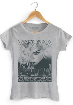 Camiseta Bandup Bandas Madonna Who S That Girl World Tour 3
