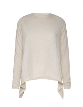 Blusa Khelf Com Pontas Off White Khelf