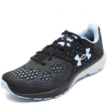 f1b14786c8 Tênis Under Armour Charged Rebel W Preto Azul Under Armour (Calçados ...