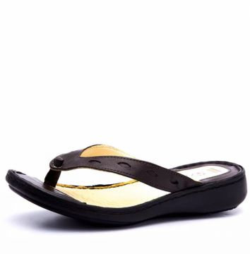 Chinelo Doctor Shoes 226 Recortes Café Doctor Shoes