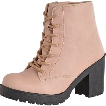Bota CR Shoes Tratorada Nude CR Shoes