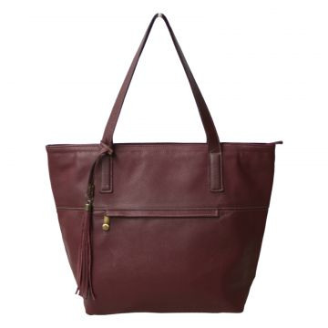Bolsa Allegra Shopper Bordô Allegra