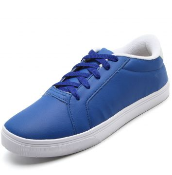 Tênis DAFITI SHOES Pespontos Azul DAFITI SHOES