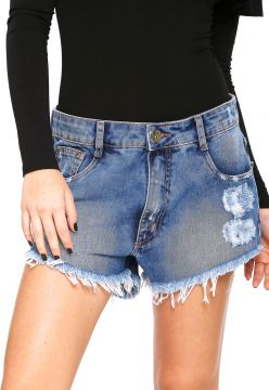 Short Jeans My Favorite Thing(s) Hot Pant Azul My Favorite