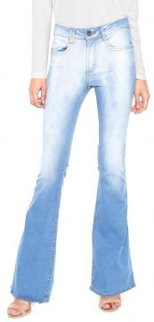 Calça Jeans My Favorite Thing(s) Flare High Azul My Favorit