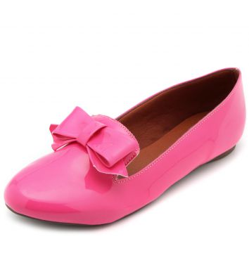 Sapatilha DAFITI SHOES Laço Rosa DAFITI SHOES