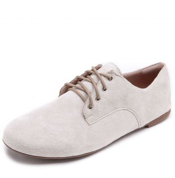 Oxford DAFITI SHOES Recortes Off-White DAFITI SHOES