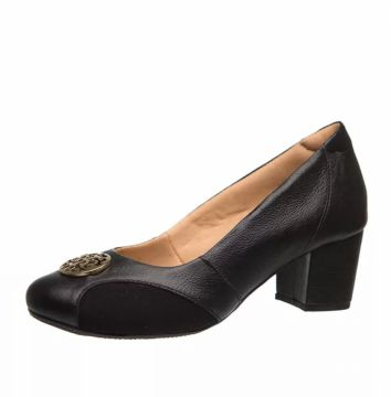 Sapato Joanete Doctor Shoes 288 Preto Doctor Shoes