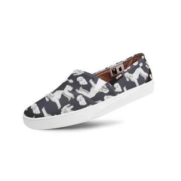 Slip-On Usthemp Folks Vegano Poodle Preto Usthemp