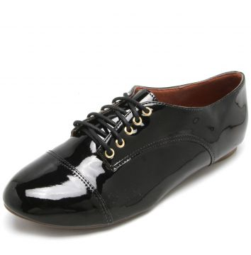 Oxford DAFITI SHOES Verniz Preto DAFITI SHOES