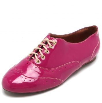 Oxford DAFITI SHOES Brogue Rosa DAFITI SHOES