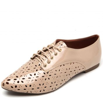 Oxford DAFITI SHOES Lasercut Bege DAFITI SHOES