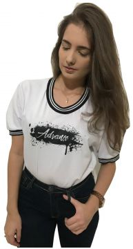 Camiseta Advance Clothing College Deluxe Branco Advance Clo