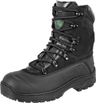 Bota Force Militar Emborrachado Preto Force Militar